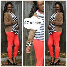 27 Week Maternity Style