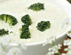 Cheesy broccoli soup, Finnish Food, June 2016