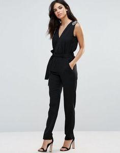 Zibi London Embellished Jumpsuit