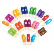 Smart Snack® Alpha Pops - 26 Pieces.. love these for my chid who isn't into most matching games
