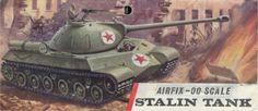 Airfix 'Stalin Tank' IS3