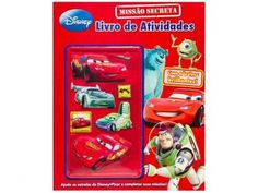 Disney Livro de Atividades - Missão Secreta - DCL com as melhores condições você encontra no Magazine X009. Confira!