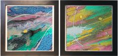 56inch, Art Set, Large Wall Art, Abstract Diptych Painting, Wall Art Canvas…