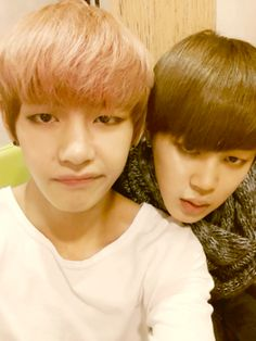 taehyung and jimin's twitter update