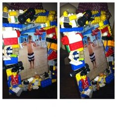 #LegoDuploParty - Craft - Picture Frame Idea