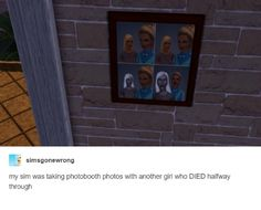 """nice 16 Photos That Prove """"The Sims"""" Is The Weirdest Fucking Game Sims Memes, Funny Memes, Sims Humor, Jokes, Stupid Memes, Stupid Funny, The Sims, Sims 4, Sim Fails"""