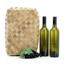 Pandanus Wine Box Double - Kiwiana - By Occasion - Products