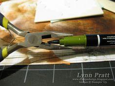 8/8/2010; Lynn Pratt on 'LastMinuteStamper' blog; REFILLING SU MARKERS... Tutorial with photos;  :-)