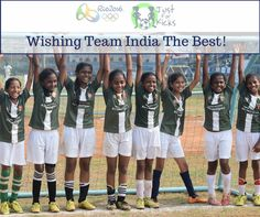 Wishing the Indian Olympic Contingent the very best