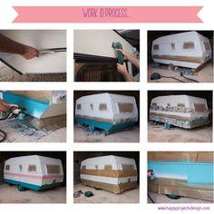 DIY: happy caravan by www.happyprojectsdesign.com