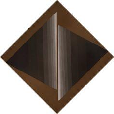 "BRIZZI, Ary ""ESTUDIO DE TENSION"" Acrílico sobre tela Diagonal: 69 cms."