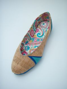 cork shoes - eco friendly vegan flats