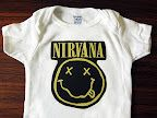 Rock 'n' Roll Baby Onesies...I know some hip babies that are on their way that I will get these for:)