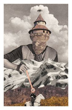 Paper Mountain : Bene Rohlmann Illustration