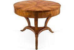 Antique Round Biedermeier Table on OneKingsLane.com