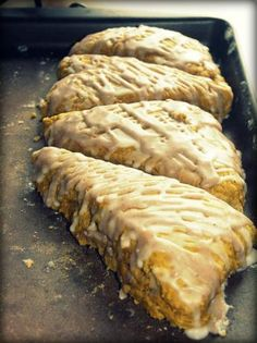 Starbucks Pumpkin Scones recipe - I will probably not make these anytime soon, but may need someday if SB stops selling them