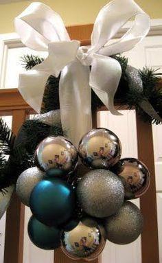ornament cluster tutorial... i had no idea it was this easy!