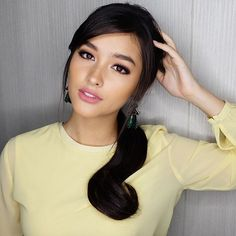 Liza Soberano (Philippines/US) Lisa Soberano, Cool Hairstyles, Wedding Hairstyles, Renz, Most Beautiful Faces, Asian Hair, Woman Face, Pretty Face, Girl Crushes
