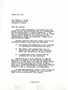 Stanley Kubrick letter to Arthur C. Clarke, A Space Odyssey Stanley Kubrick, Free Math Help, Argumentative Essay Topics, Science Fiction Authors, Topics For Research, Best Authors, Actors, Director, Research Paper