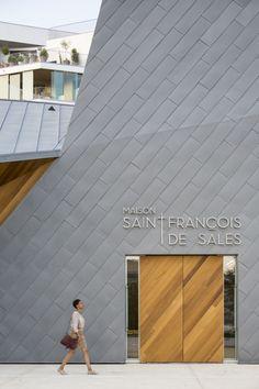 Atelier d'Architecture Brenac-Gonzalez --> Ensemble Pastoral Catholique