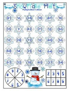 Winter Math Games FR