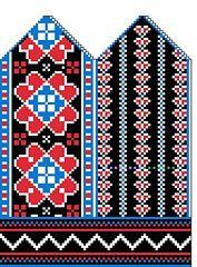 Ravelry: Ukrainian Flower Mittens pattern by Daniel MacBride