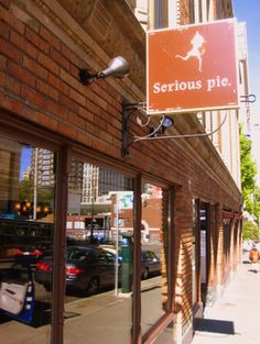 Serious pie (pizza, yummy salads + desserts), Seattle.