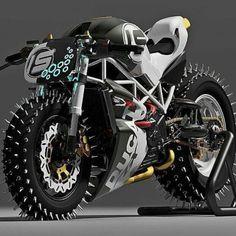 Ducati new tire