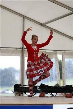 Kilt with red jacket #longniddry #red #tartan