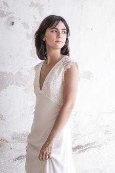 Jeanne, Marie, One Shoulder Wedding Dress, Wedding Dresses, Provence, Inspiration, Fashion, Short Updo Wedding, Civil Ceremony