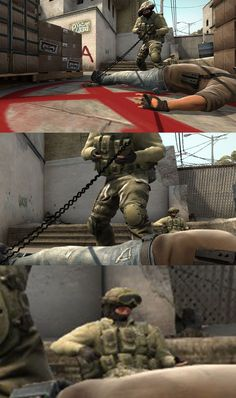 When you know your teammates got this #CSGO
