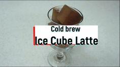 귀여운 콜드브루 큐브 라떼 만들기! Clod brew Cube Latte