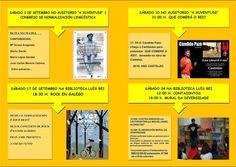 """CORES DE CAMBADOS: ACTIVIDADES DE SETEMBRO NA BIBLIOTECA """"LUÍS REI"""""""