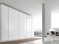 White built in wardrobes loft apartment - Google Search