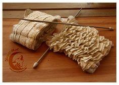 Tape yarn :) and what can sou do with it ;) Bändchengarn :) und was kann man damit tun ;)