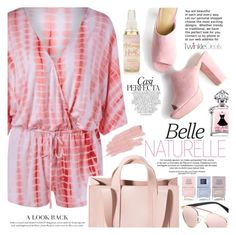 """""""Pink"""" by vanjazivadinovic ❤ liked on Polyvore featuring Whiteley, Corto Moltedo, Nails Inc., Jane Iredale, polyvoreeditorial and twinkledeals"""