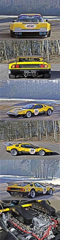 1978 Ferrari 512 BB Ex Ecurie Francorchamps #ferrariclassiccars