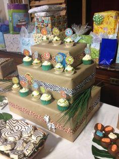 Baby Shower de temática en la selva. #DecoracionBabyShower