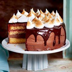 La duchesse de Shlaken German Cakes Recipes, Cake Recipes, Chocolate Dreams, Christmas Entertaining, Sweet Cakes, Tiramisu, Food And Drink, Pudding, Ethnic Recipes