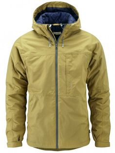 howies - Airman Wool Wadded Ventile Jacket - jackets - Mens Clothing - mens