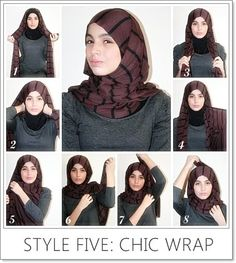 Hijab 5 - chic wrap