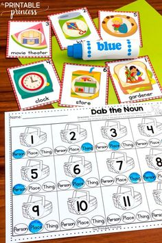 "Summer centers made just for Kindergarten. This resource includes 23 literacy and math centers with a fun summer theme. ""I Can"" visual directions, resource sheets, answer keys, and follow up practice worksheets are all included. Skills include: rhyming wo"