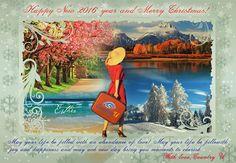 "My Work ""Card for winter holidays"" #holidays #Postcard #card #Christmas #newyear #Christmascard #Рождество #Новыйгод #открытка #праздничнаяоткрытка #новогодняяоткрытка #рождественскаяоткрытка #путешествие  #туризм #Travel #Travelart"