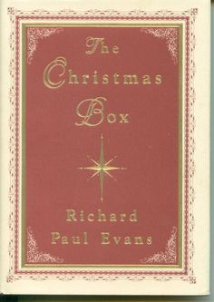 """"""" The Christmas Box Book """", author Richard Paul Evans. A Christmas story of a fathers love for his children. Hardbound, 126 pages, used but like new. May be viewed in Noels Nook Booth at bonanza.com/booths/NoelsNook"""