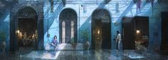 Final Fantasy XV - Interior Concept