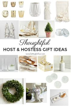 These thoughtful host & hostess gift ideas are perfect for your to pick up for your party invite or for yourself! #decor #entertaining #christmas #thanksgiving #party #gift #giftidea #holiday #christmasgift