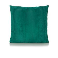 Jumbo Cord Cushion - 50x50cm | Home & Garden | George at ASDA Asda, Cushions, Throw Pillows, Stuff To Buy, Cord, Living Room, Garden, Accessories, Electrical Cable