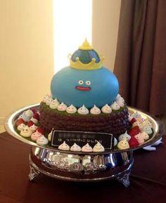 King Slime Wedding cake