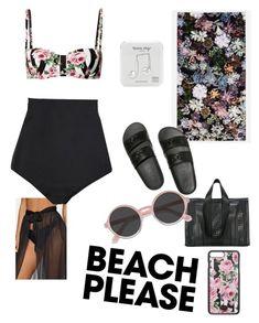 """Başlıksız #36"" by namidigerkirmizi ❤ liked on Polyvore featuring Dolce&Gabbana, Beach Riot, Slowtide, Corto Moltedo, Victoria's Secret PINK, EyeBuyDirect.com, Happy Plugs, BeachPlease and vacayoutfit"