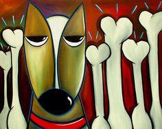 Art: Faces 271 by Artist Thomas C. Fedro